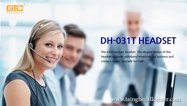 FreeMate DH-031T tai nghe chuyên dụng cho các trung tâm chăm sóc khách hàng