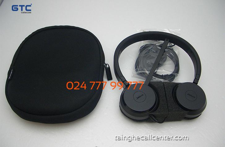 Jabra Evolve 30 MS stereo tai nghe chuyên dụng cho chăm sóc khách hàng