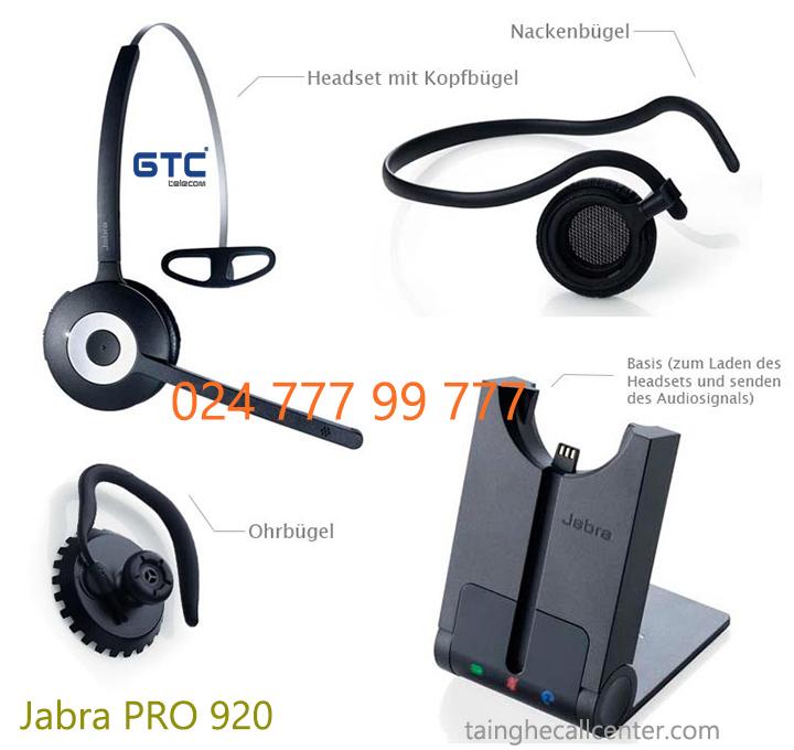 Tai nghe Jabra Pro 920 đột phá công nghệ không dây cao cấp