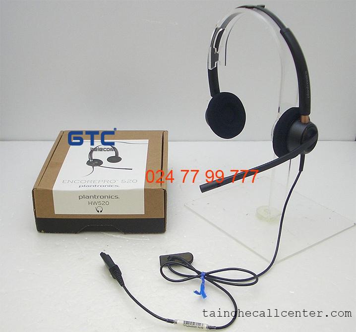 Plantronics EncorePro HW520 tai nghe có dây thoại hay