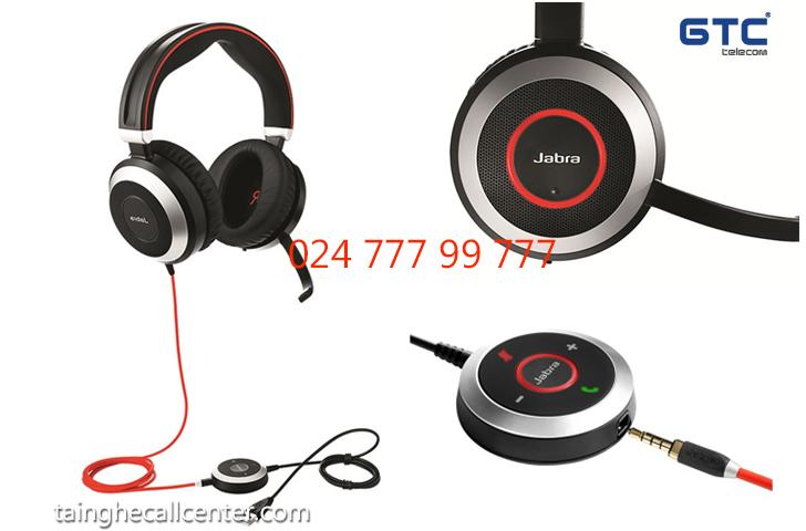 Jabra EVOLVE 80 MS Stereo  tai nghe chống ồn chất lượng cao