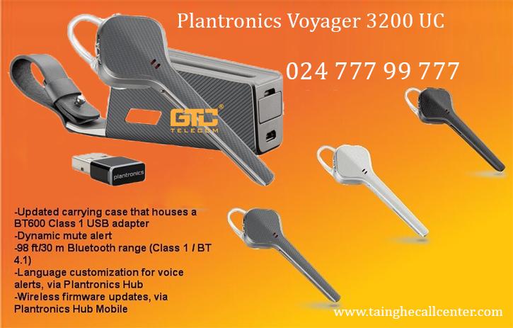 Plantronics Voyager 3200 UC tai nghe cho cuộc họp trực tuyến chất lượng tốt
