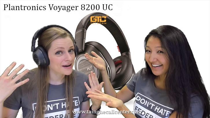 Tai nghe Plantronics Voyager 8200 UC tốt cho cuộc họp trực tuyến