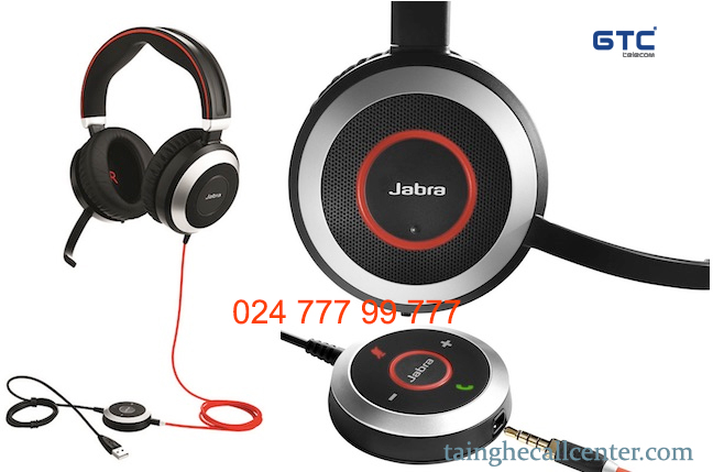 Tai nghe Jabra Evolve 80 được đánh giá là chống ồn tốt