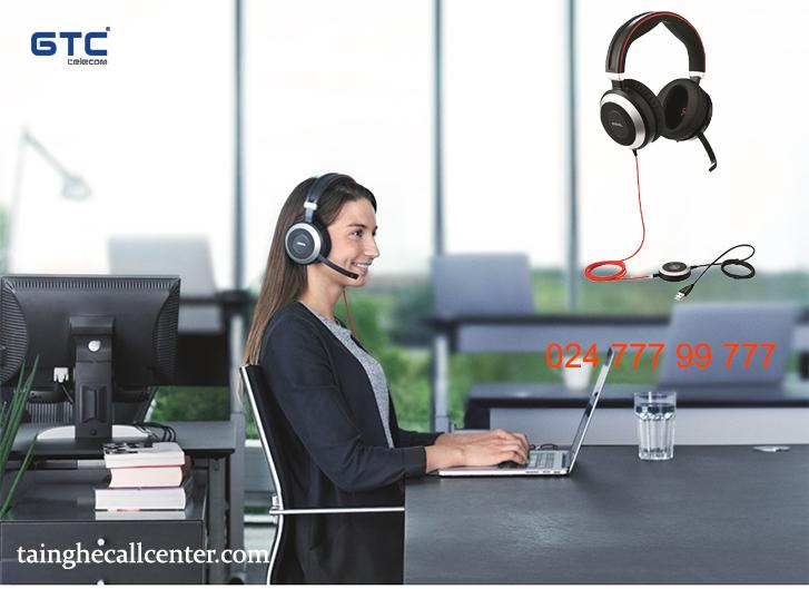Đánh giá tai nghe Jabra Evolve 80 chất lương, chống ồn tốt